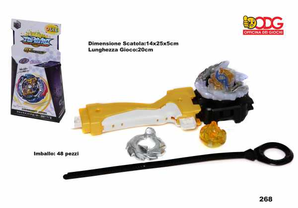 TROTTOLA SPINNING TOP CON LANCIATORE - Odg (268)