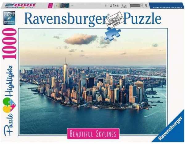 Ravensburger- New York Puzzle Da Adulti, Multicolore, 1000 Pezzi, 14086
