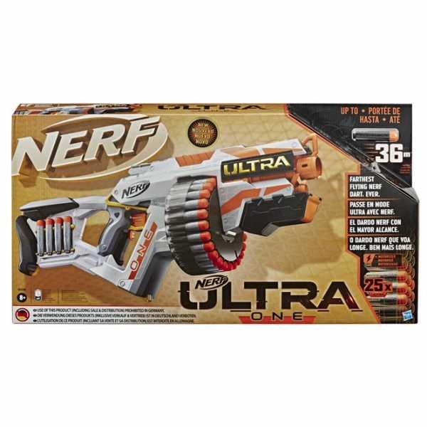 Hasbro Nerf Ultra - One (Blaster Motorizzato, Include 25 Dardi Nerf Ultra, Compatibile Soltanto Con I Dardi Nerf Ultra)