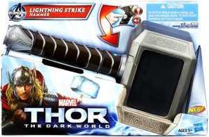 Avengers - Martello Di Thor Power Moves (Role Play Con Tecnologia Nerf Lancia Dardi)