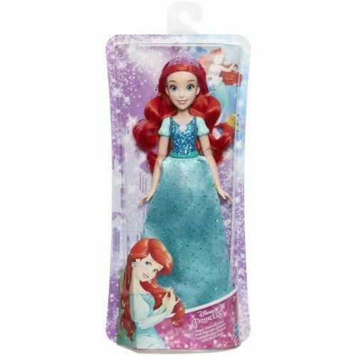 Disney Princess- Shimmer Ariel Bambola, Multicolore, E4156ES2