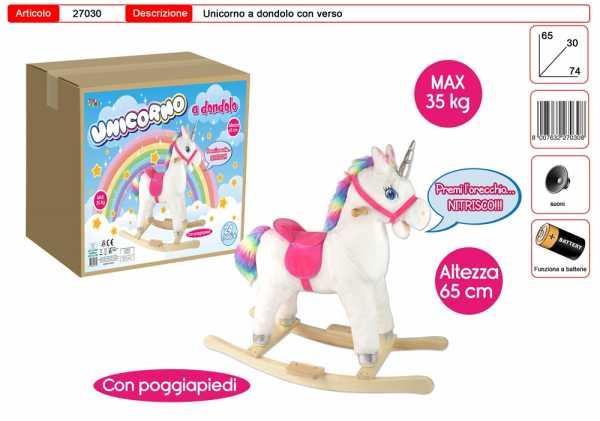 TOYS GARDEN Unicorno Dondolo