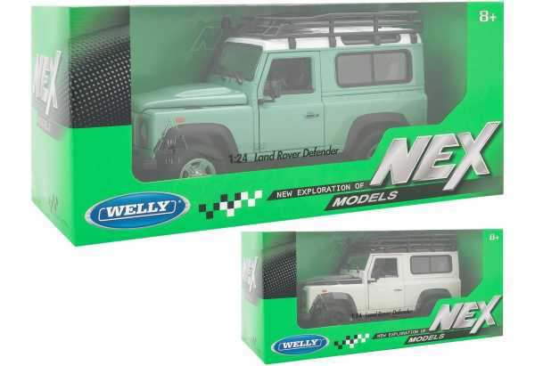Globo Spa 39791 Welly Land Rover Def. Die Cast