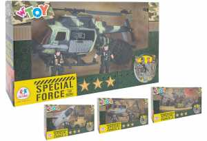 Globo 39850 Playset Militare Con Personaggi Assortito