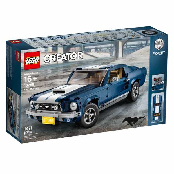 Lego- Creator Expert-Ford Mustang GT, Multicolore, 10265