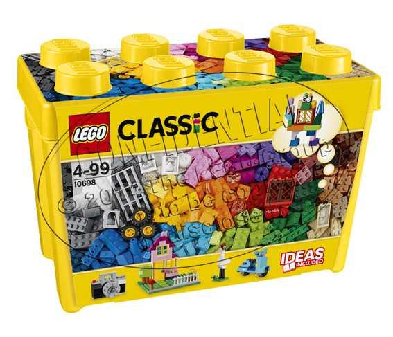 LEGO Classic Scatola Mattoncini Creativi Grande Per Liberare La Tua Fantasia E Stimolare La Tua Creatività, Per Bambini Dai 4 Anni, 10698