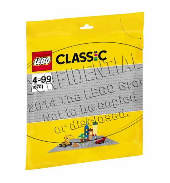LEGO Classic - Base Grigio, 10701
