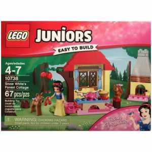 Lego Juniors 10738 La Casetta Nel Bosco Di Biancaneve