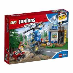 LEGO Juniors 10751 - Set Costruzioni, Inseguimento Della Polizia Di Montagna