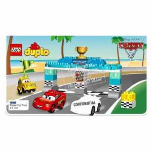 LEGO 10857 - Duplo Ip New, Gara Piston Cup