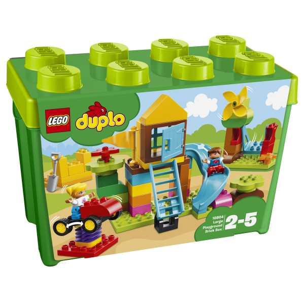 Lego Duplo My First-la Mia Grande Scatola Di Mattoncini-Parco Giochi, 10864