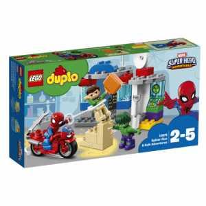 LEGO DUPLO LICENZE  DISNEY E WARNER AVVENTURE DI SPIDER-MAN E HULK N18 (10876)