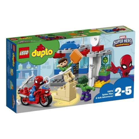 Lego Duplo Super Heroes-Le Avventure Di Spider-Man E Hulk, 10876
