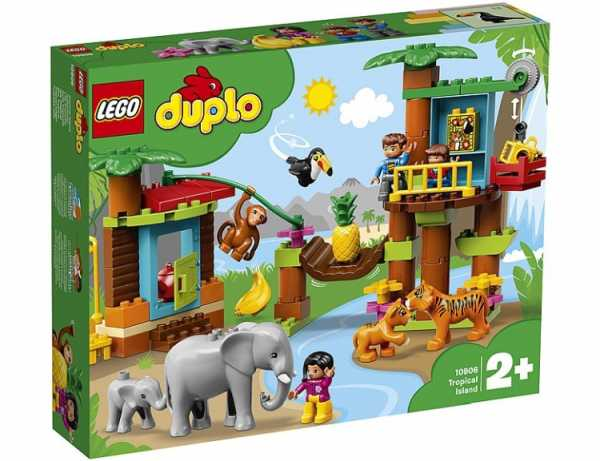 Lego Duplo Town - Isola Tropicale, 10906