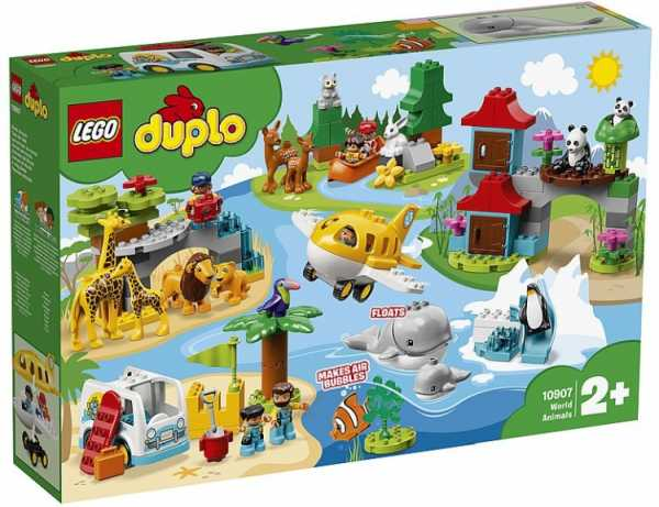 LEGO DUPLO ANIMALI MONDO SPECIALIST (10907)