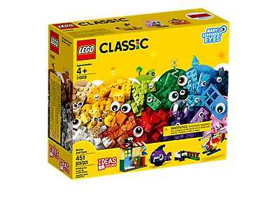 LEGO Classic Mattoncini E Occhi Gioco Per Bambini, Colore Vari, 11003