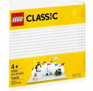 LEGO CLASSIC BASE BIANCA (11010)