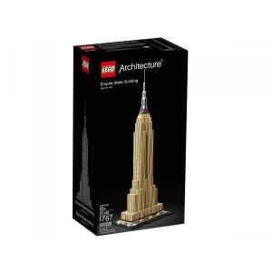 LEGO- Architecture Gratte Ciel Historique De New York Gioco Per Bambini, Multicolore, 6250906