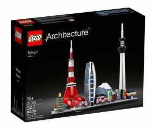 Lego - Architecture Skyline Di Tokyo Modello In Scala Dettagliata Per Una Rappresentazione Realistica, Set Di Costruzioni Per Ragazzi +16 Anni, 21051