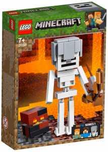 LEGO Minecraft - Maxi-figure Minecraft Dello Scheletro Con Cubo Di Magma, 21150