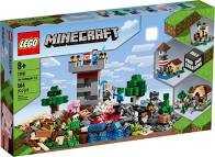 LEGO Minecraft Crafting Box 3.0 Per Dare Vita Ad Avventure, Gioco Per Ragazzi +8 Anni, 21161
