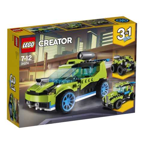 LEGO CREATOR  AUTO DA RALLY ROCKET N18 (31074)