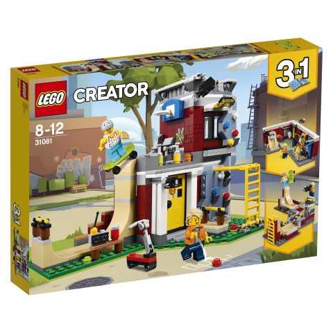 Lego Creator 31081 - Skate House Modulare