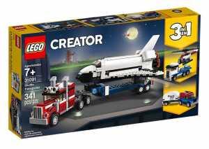 LEGO Creator - Trasportatore Di Shuttle, 31091