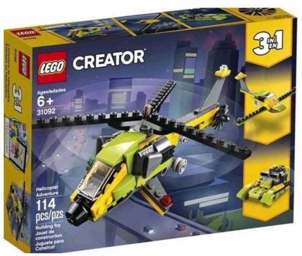 LEGO Creator - Avventura In Elicottero, 31092