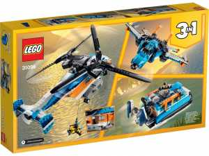 LEGO CREATOR ELICOTTERO BI ROTORE (31096)