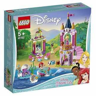 Lego Disney Princess I Festeggiamenti Reali Di Ariel, Aurora E Tiana Diana Gioco Per Bambini, Colore Vari, 41162