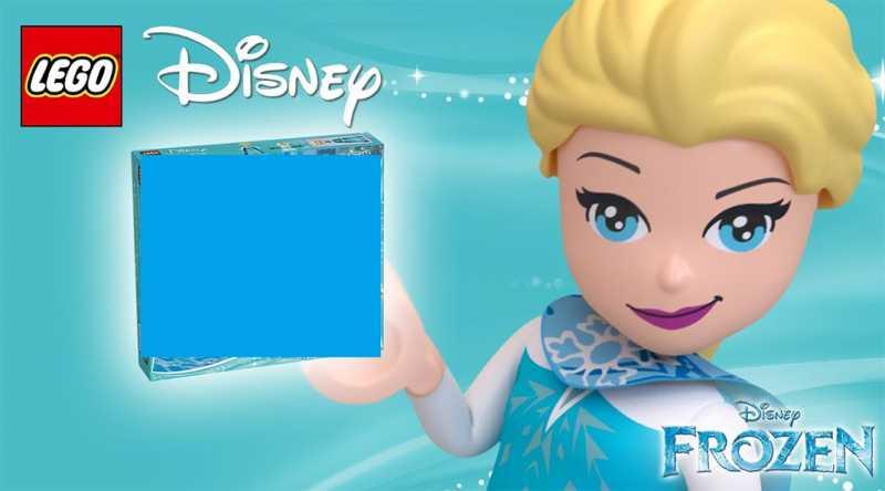 Lego Disney Frozen 2 Tombola 5 41168