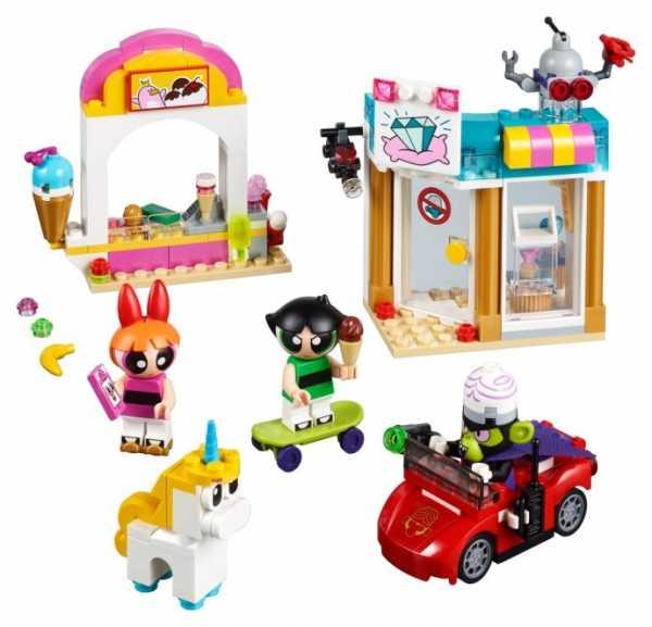 LEGO PowerPuff Girls L'attacco Di Mojo JoJo, 41288