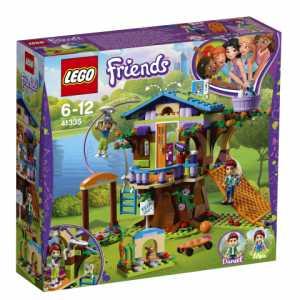 LEGO- Friends La Casa Sull'Albero Di Mia Set Di Costruzioni Ricco Di Particolari, Con Mini Doll Di Mia E Daniel, Per Bambine 6-12 Anni, 41335
