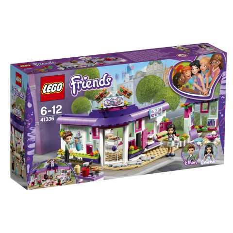 Lego Friends 41336 - Il Caffè Degli Artisti Di Emma