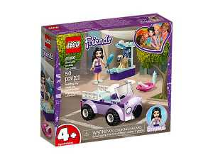 LEGO- Friends La Clinica Veterinaria Mobile Di Emma, Colore Vari, 41360