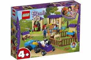 LEGO Friends 41361 La Scuderia Dei Puledri Di Mia Per Tutte Le Bambine Che Amano Gli Animali E I Cavalli; Set Di Costruzioni Con La Mini-doll Di Mia E Due Puledri; Per Bambini Dai 4 Anni