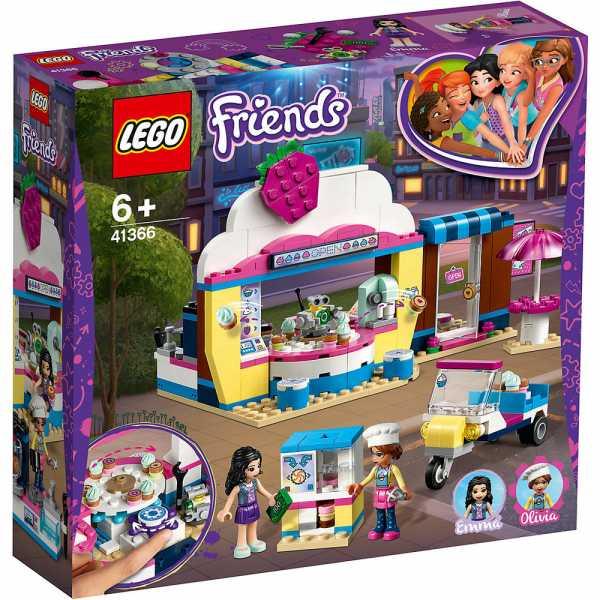 Lego Friends Il Cupcake Café Di Olivia Gioco Per Bambini, Colore Vari, 41366