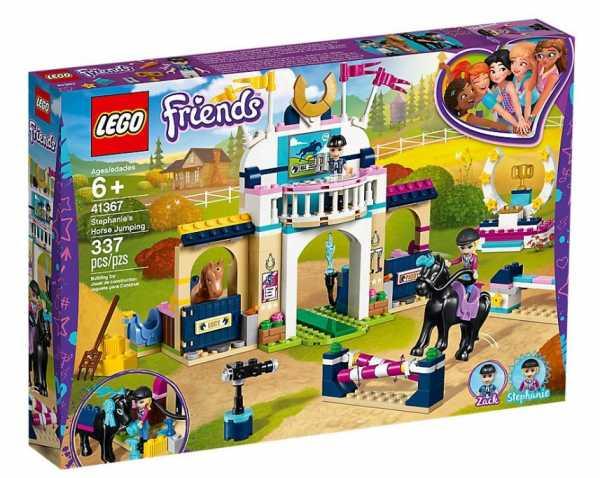 Lego Friends La Gara Di Equitazione Di Stephanie Gioco Per Bambini, Colore Vari, 41367