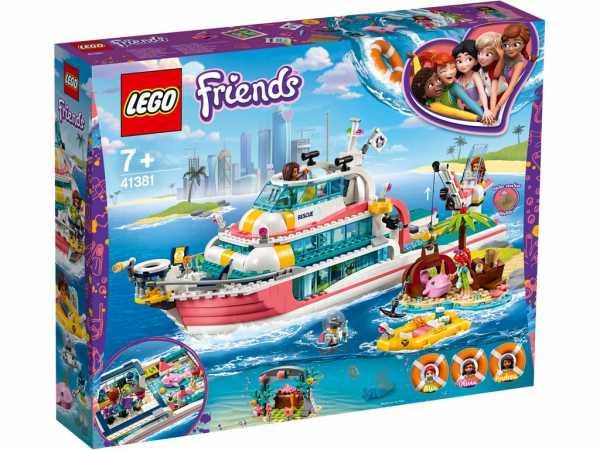 LEGO FRIENDS MOTOSCAFO SALVATAGGIO SPECIALIST (41381)