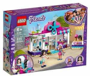 LEGO Friends Il Salone Di Bellezza Di Heartlake City, Set Di Costruzioni Ricco Di Dettagli Per Bambine 6+ Anni, Con Due Mini-Doll Di Emma E Nina E Tanti Accessori, 41391