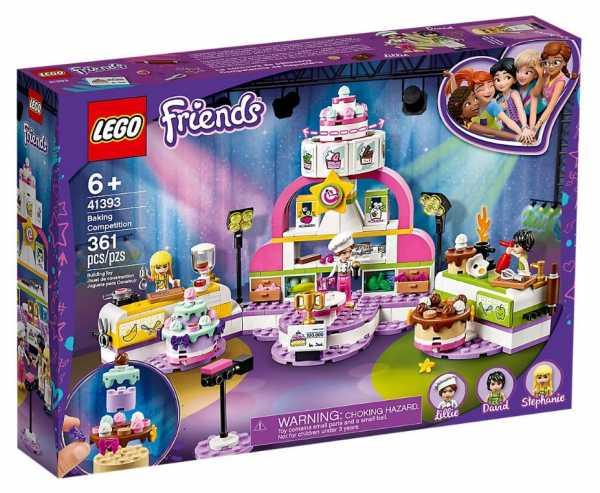 LEGO Friends Concorso Di Cucina Set Di Costruzioni Per Bambine, Con La Mini-Doll Di Stephanie, Molte Torte E Cibo, +6 Anni , 41393