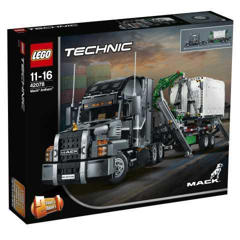 Lego Technic Costruzioni 42078 - Mack Anthem