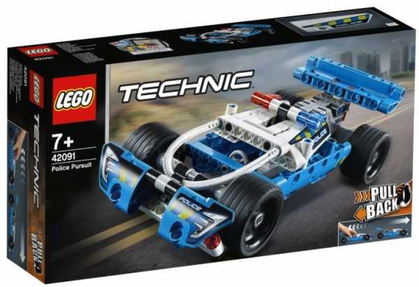 LEGO Techinc - Inseguimento Della Polizia, 42091