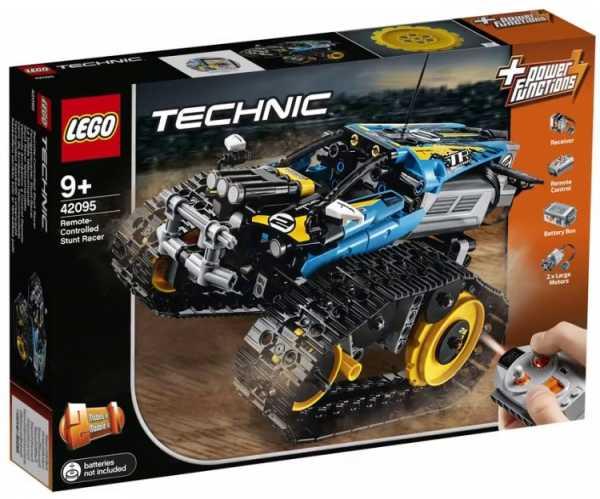 Lego - Technic Stunt Racer, Veicolo Telecomandato Ad Velocità , Completamente Motorizzato, Con Cingoli E Grandi Ruote Dentate Posteriori Per Ragazzi Dai 9 Anni, 42095