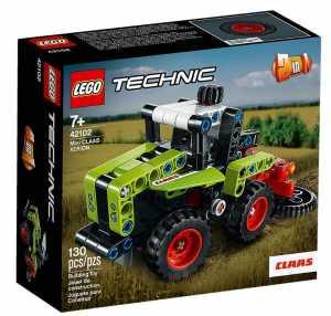 LEGO Technic Mini Claas Xerion Set Di Costruzioni Trattore, Per Bambini +7 Anni, 42102