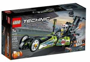 LEGO Technic - Dragster Con Tecnologia PullBack, Set Di Costruzioni Per Bambini +7 Anni, 42103