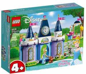 LEGO Disney Princess La Festa Al Castello Di Cenerentola, Set Di Costruzioni Per Bambine +4 Anni Per Dare Vita Alla Loro Immaginazione E Giocare In Compagnia, 43178