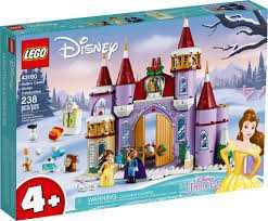 LEGO-La Festa D'inverno Al Castello Di Belle Set Di Costruzioni, Multicolore, 43180