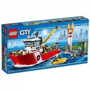 Lego - 60109 - City Fire - Motobarca Antincendio